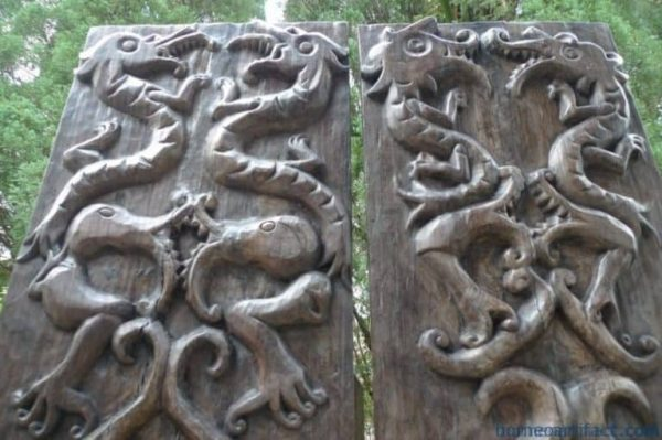 FULLSIZEDOOR/TRIBALPANEL(PAIR)WallStatueFigurePaintingSculptureArt
