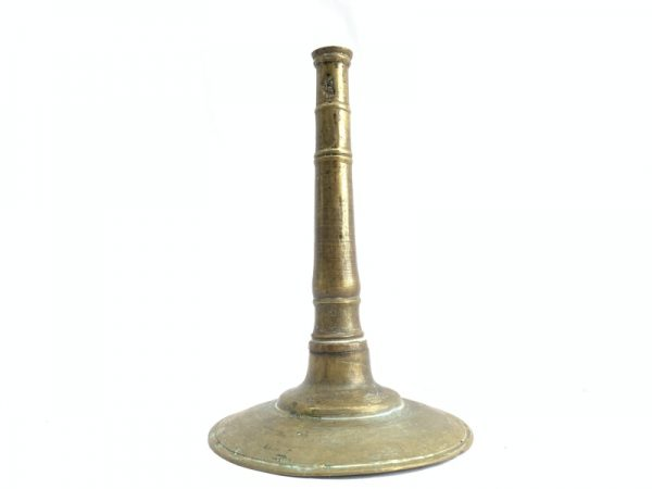 ANTIQUE BRASS / BRONZE CANDLE HOLDER no Candlebra Stand Old School Candle Stand