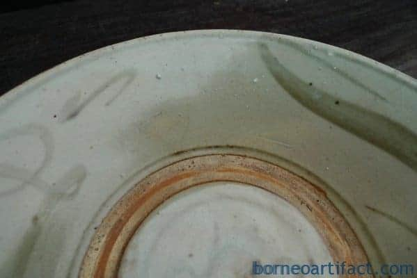 ANTIQUE DISH PLATE Ching/Qing Dynasty (1644-1912) Chinese Asian Artifact Vintage Authentic Ware
