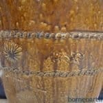 cmHUGEANTIQUEGlazedJarTajauAuthenticCollectionVaseUrnPotPottery