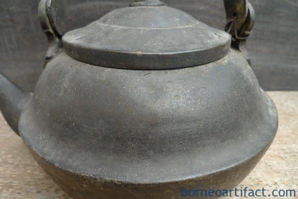 STEAMER KETTLE, UNUSUAL STEAMER KETTLE Antique Boiler Pot Teakettle Bronze Kitchen Ware Mansion
