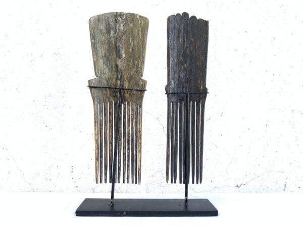 TANIMBAR HAIRPIN 200mm Old Headdress Crown Comb Jewel Jewelry