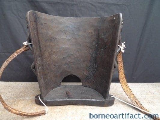 NATIVE DAYAK BABY CARRIER Child Backpack Knapsack Sling Bag Duffel BORNEO