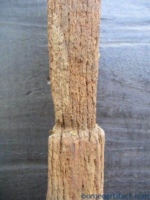ANTIQUE Paddy Field Artifect ANCESTRAL POLE Patong Eroded Statue Figure Icon #11