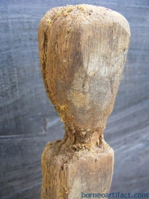 ANTIQUE ERECTED POLEAncestral Guardian Figure Statue Sculpture Image Icon #12