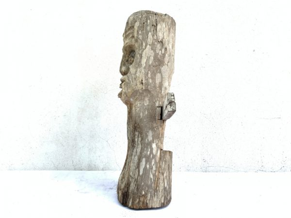 DAYAK AUTHENTIC 460mm HOME GUARDIAN STATUE Old Figure Icon Sculpture Artifact