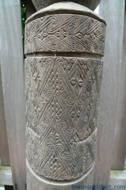ONE & ONLY 730mm OLD TAFU TANIMBAR LETI STATUE Sculpture Artefact Ritual Pole