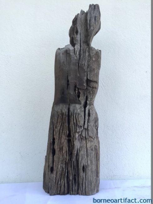 ERODEDGUARDIANmmDAYAKSTATUEPatungKebahanPrimitiveFigureSculptureArt