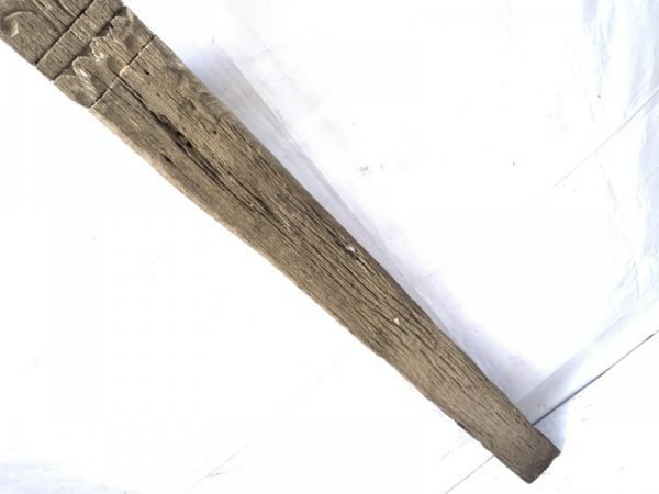 KRAMEN 1810mm POLE WARRIOR STATUE Eroded Dayak Dyak Primitive Figure AUTHENTIC