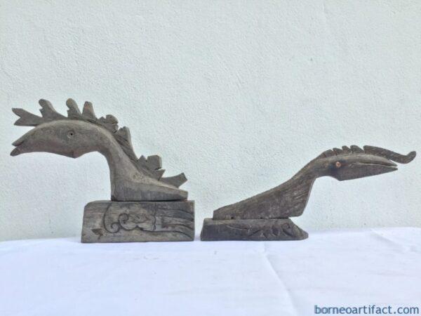 ANTIQUEDRAGONFIGURE(PairM&F)SculptureStatueHomeBarPubGiftChristmas