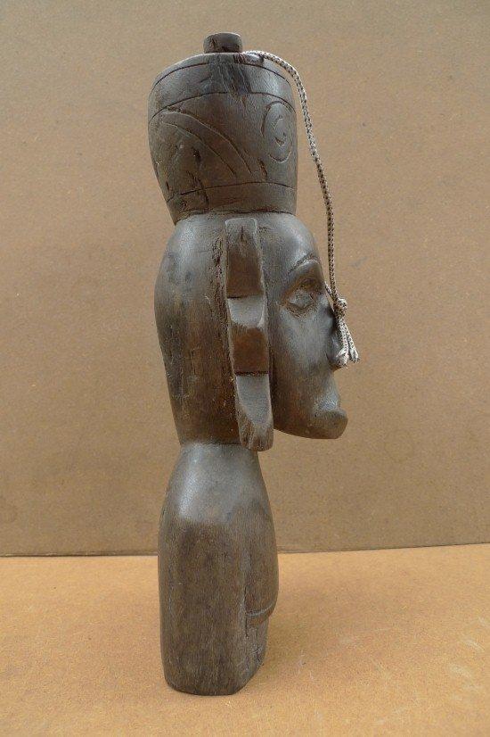 DAYAKBAHAU&#;JAR.AuthenticAgedStatueSculpturePrimitiveFigureBorneo