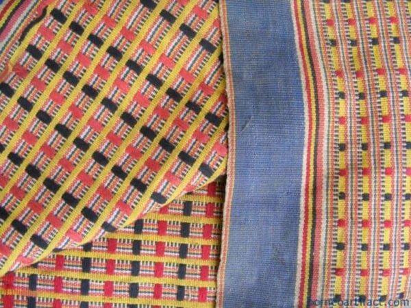 COTTON Dayak Dress SARONG, FREE SHIPPING ~OLD Bidang SKIRT~ 100% COTTON Dayak Dress SARONG LADIES GARMENT#4