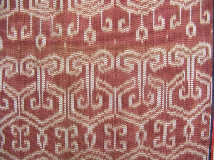 THRONE OF PETARA & LEECH Ikat Bidang Ritual SKIRT SARONG LADIES GARMENT #86