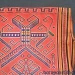 AUTHENTIC Dayak WARRIOR JACKET SHIRT Headhunting Asia Male Shirt Attire Fabric