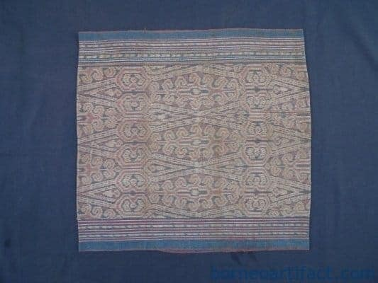 HORSE SHOE & DEER HORN DAYAK DRESS SUNGKIT Skirt Bidang SARONG LADY GARMENT #273
