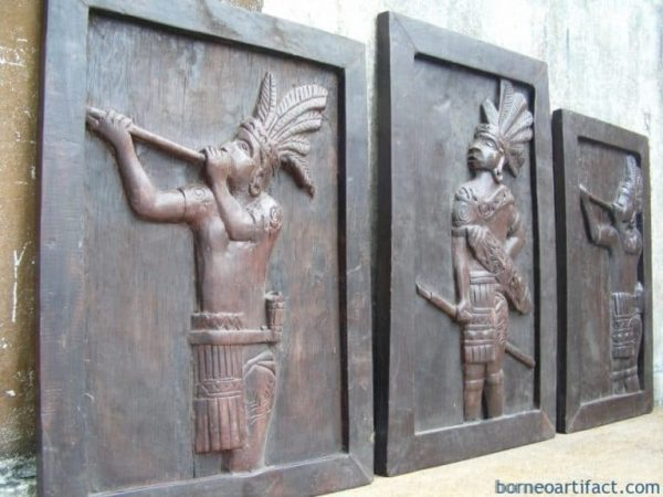 Carved Wall Deco