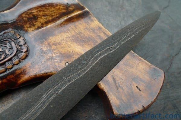 RARE KERIS JANUR SINEBIT Knife, RARE KERIS JANUR SINEBIT Knife Arms Weapon Sword Kriss Kris Dagger Samurai Asia