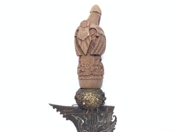OLD KERIS GARUDA BALI, OLD KERIS GARUDA BALI Balinese Weapon Knife Blade Dagger Sword Arms Hindu God