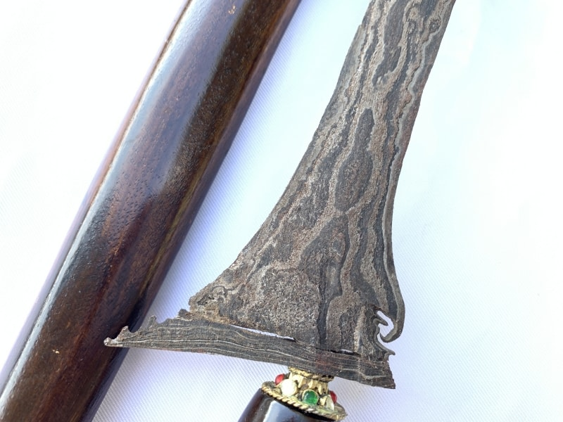 ULER LULUT, ULER LULUT / AUTHORITY 520mm KERIS Weapon Knife Sword Dagger Kris Blade Samurai