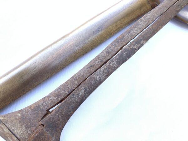 CENDANA 510mm EXPENSIVE WOOD KERIS Weapon Knife Sword Dagger Kris Blade Silat