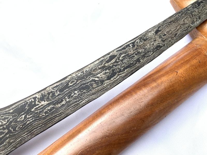 PALEMBANG KERIS, STRAIGHT BLADE 440mm PALEMBANG KERIS Weapon Kris Knife Dagger Sword Kriss Arms