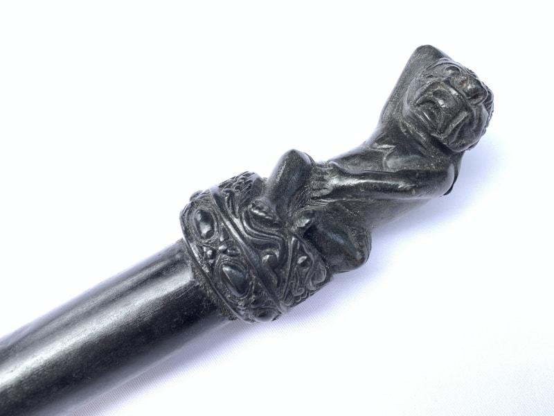 (TOMBAK KUDUP MELATI) OLD SPEAR Knife Weapon Sword Dagger Keris Kris Tribal Asia