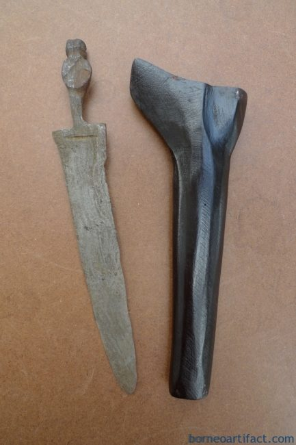 KERIS SAJEN MAJAPAHIT 500 Years Blade Antique Old Aged KRIS KRISS KNIFE WEAPON