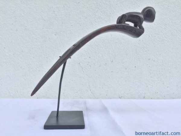 BATAKKAROHAIRPINmmCOMBHEADDRESSPinStatueSculptureJewelryArtifact