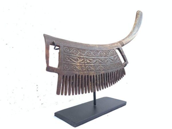 TRIBALCOMBmmBATAKKAROSculptureHairJewelryJewelHairAccessoriesArt