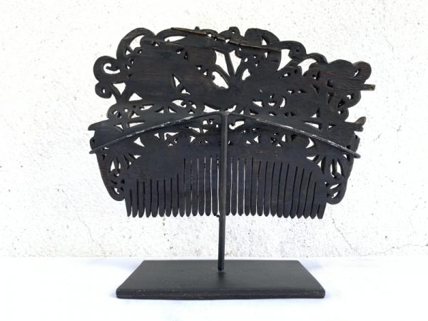 SUPER LARGE XXXL 185mm TRIBAL CROWN Comb Headdress Hairpin Old Jewelry Dayak