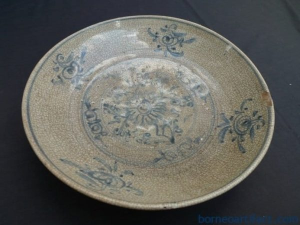 MING DYNASTY, AUTHENTIC MING DYNASTY (1368-1644) DISH / PLATE Great Ming Porcelain Artifact