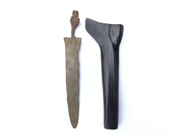 Kris Sajen MAJAPAHIT 500 Years Blade Antique Old Aged Keris Kriss KNIFE WEAPON