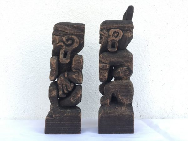borneo tribe dayak bahau human statue people figure sculpture icon paperweight