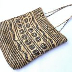 Traditional rattan handbag