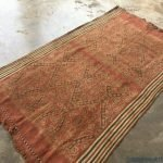 textile of borneo 1300mm old authentic tribal blanket fabric wall deco pua kumbu