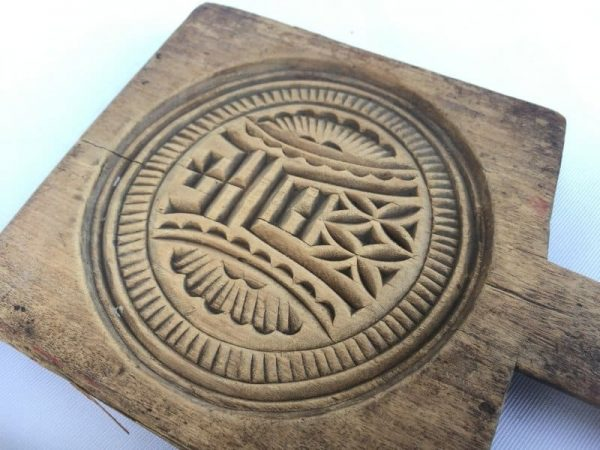 TRADITIONAL CAKE MOLD, TRADITIONAL CAKE MOLD Old Biscuit Maker Asia Asian Food Cast Frame Stamp Baking Tray #10