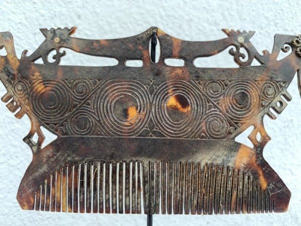 FACELESS HEADDRESS CROWN 155mm Tanimbar Indonesia Jewelry Artifact Asia Asian Culture