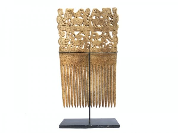 TRIBAL WOMEN HEADDRESS (XXXL 300mm Crown) Sumba indonesian jewelry Comb Hairpin Asia Artifact