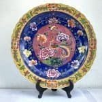 LARGE PERANAKAN XXXL PLATE 460mm DISH CERAMIC Kitchen Ware Asian Chinese Porcelain