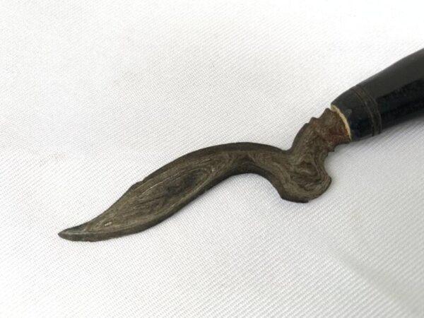 mini Keris, mini KERIS 95mm KRIS KUJANG Shaman Talisman Dagger Knife Blade Sword Kriss Asia Asian Culture