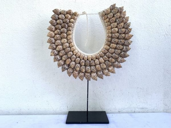 Traditional, #17 Traditional Seashell Necklace Shells Jewelry Gem Precious Stone Handmade Gift Asia