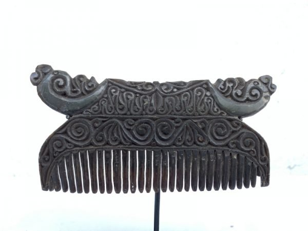 NATIVE HEADDRESS 110mm Tribal Comb Buffalo Horn Body Ornament Jewelry