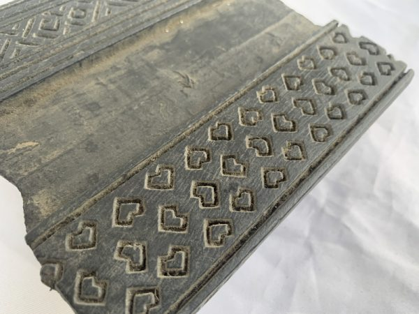 NEPAL NEPALESE Traditional Fabric Block Stamp Antique Wooden Chop Textile Print Sculpture #7