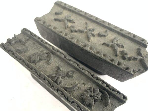 NEPAL NEPALESE Antique Printing Block Chop Textile Fabric Stamp Print Tribal Asia #16