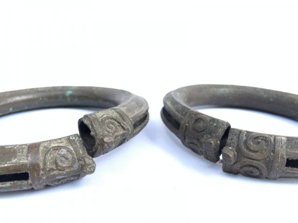 ANKLET JEWELRY (One Pair) ANTIQUE Tribal Ornament Bracelet Bangle Women Adornment Chain Accessories